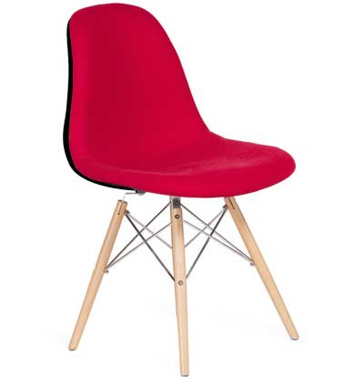 Chaise design couleur rouge de chez Super Studio