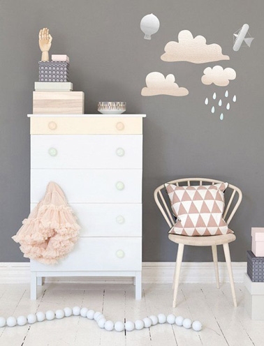 une chambre de petite fille digne d une chambre de princesse. Black Bedroom Furniture Sets. Home Design Ideas
