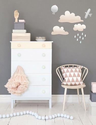 Chambre De Petite Fille Grise La D Co Pastel