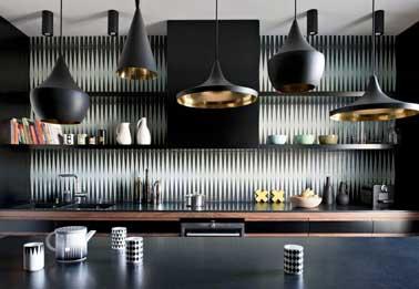 Quelle couleur mettre avec une cuisine grise - Credence de cuisine adhesive ...