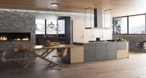 Cuisine ouverte sur salon id es d co d 39 am nagement cuisine - Idee cuisine ouverte sur salon ...