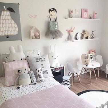 Une chambre de petite fille digne d\'une chambre de princesse