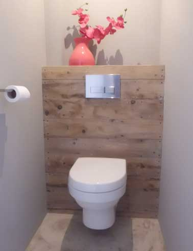 D coration wc naturel for Photo deco wc