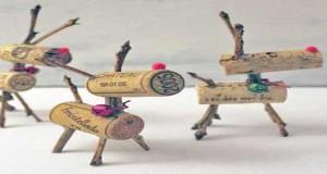 La magie des d corations de no l l 39 ext rieur deco cool - Decoration de table de noel a fabriquer ...