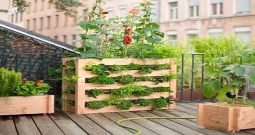 La d coration du jardin balcon terrasse pictures to pin on for Salon du jardin marseille