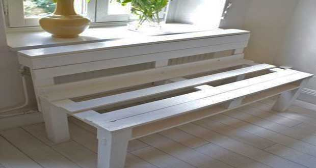 Diy d co comment d monter une palette bois deco cool - Faire une table de jardin ...
