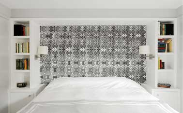 la t te de lit donne envie de bricoler cr atif deco cool. Black Bedroom Furniture Sets. Home Design Ideas