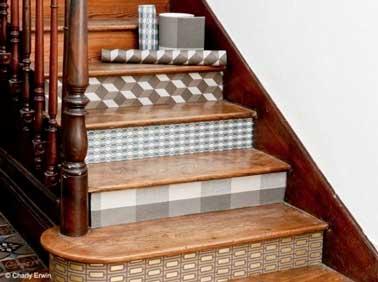d co r cup 10 fa ons d 39 utiliser les chutes de papier peint. Black Bedroom Furniture Sets. Home Design Ideas