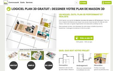 logiciel pour faire des plans de meuble gratuit dessin 3d. Black Bedroom Furniture Sets. Home Design Ideas