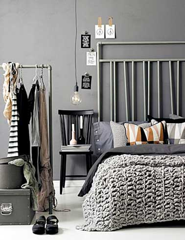 diy d co on fait une t te de lit originale deco cool. Black Bedroom Furniture Sets. Home Design Ideas