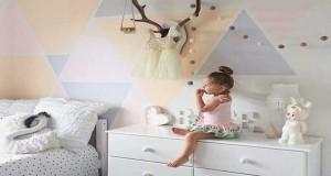 Pour repeindre une chambre, un salon… Une couleur pastel associée à des formes géométriques pour repeindre ses murs, c'est tendance. on mise une peinture couleurbleu, vert,mauve, rose pastel pour une déco d'inspiration scandinave.