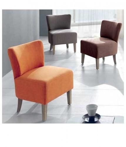 petit fauteuil design sans accoudoirs cocktail scandinave. Black Bedroom Furniture Sets. Home Design Ideas