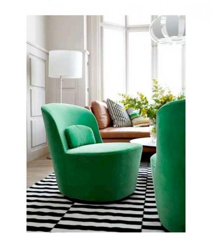 Petit fauteuil pivotant vert style baroque ikea - Petit fauteuil pivotant ...