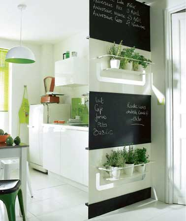 astuces d co pour optimiser une petite cuisine deco cool. Black Bedroom Furniture Sets. Home Design Ideas