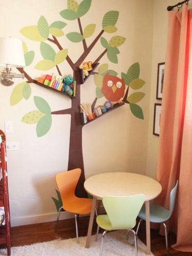 des stickers rigolos pour la d co de la salle de jeux. Black Bedroom Furniture Sets. Home Design Ideas