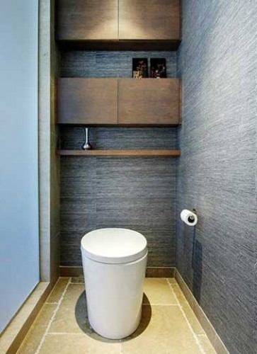 10 fa ons d 39 arranger la d co de ses wc deco cool for Deco wc bleu