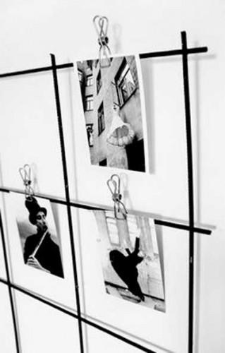 Accrocher des photos avec des pinces sans faire de trous for Comment accrocher des tableaux sans faire de trous