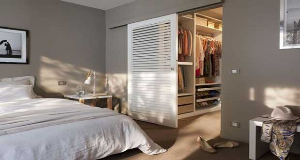 D co chambre adulte avec dressing for Dressing moderne chambre des parent