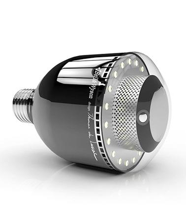 Mettez votre intérieur à la pointe de la technologie avec le système de surveillance à distance ConnectLed BWPix ! Un object connecté innovant imaginé par Bell & Wilson.