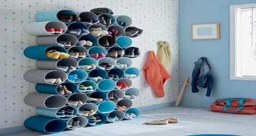 astuces rangement pour chaussures livres v tements dans la maison. Black Bedroom Furniture Sets. Home Design Ideas