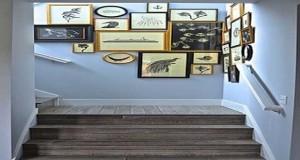 La cage d'escalier mérite avec une belle déco. Avec une peinture escalier, un rangement aménagé dans les marches ou dans la cagen sublimezvotrecage d'escalier avec nosidées déco