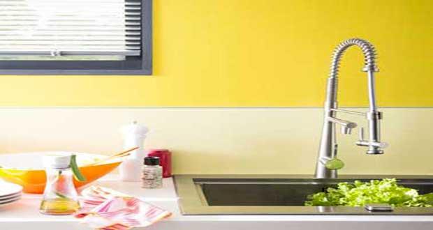 Une couleur jaune pour une d co p tillante - Decoration peinture cuisine couleur ...