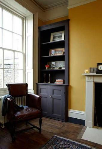 Couleur moutarde pour la peinture du salon cocooning for Belle peinture pour un salon
