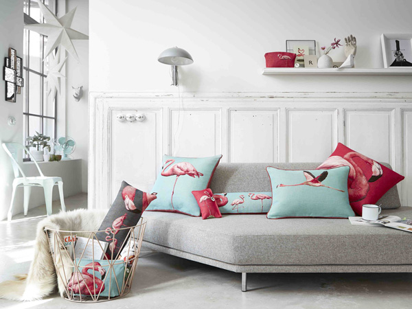 Deco flamant rose maison du monde for Maison deco 2016
