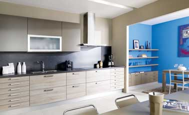 8 am nagements d co de cuisine am ricaine s duisants. Black Bedroom Furniture Sets. Home Design Ideas