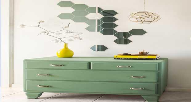 Diy d co faire une d co murale avec des petits miroirs for Apprendre a peindre un mur