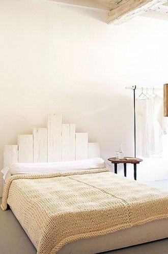 Comment fabriquer une tete de lit pictures to pin on pinterest - Fabriquer une tete de lit en bois ...