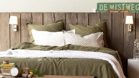 fabriquer une t te de lit en bois pour une d co zen. Black Bedroom Furniture Sets. Home Design Ideas