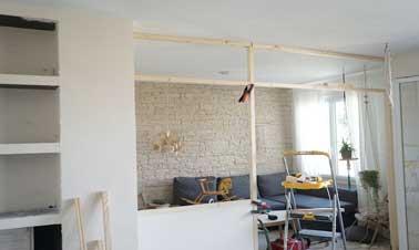 Une verri re atelier construite pour 400 deco cool for Fabriquer verriere atelier
