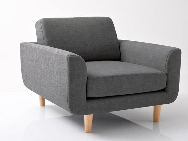 Un beau fauteuil pour un intérieur doux et cosy, qui s'associera parfaitement à un salon de style nordique. Longueur : 77 cm, hauteur : 79 cm, profondeur : 81 cm, tissu légèrement chiné en 90% polyester et 10% coton, coussin d'assise et dossier garni de mousse polyuréthane, poches de fibres polyester pour un accueil plus moelleux, 233,55€ au lieu de 299€ (-22%)