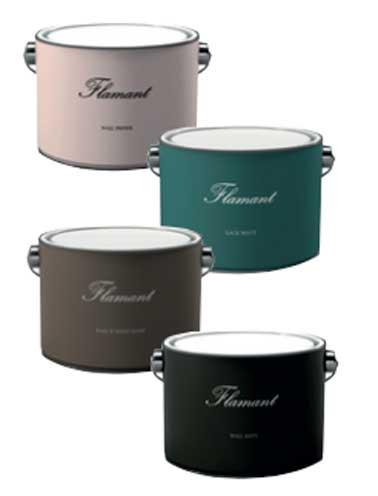 La gamme de couleurs de peinture tollens by flamand for Peintures haut de gamme