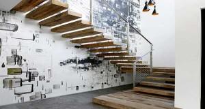 Cage d\'escalier - 20 idées déco pour un bel escalier