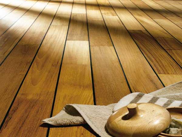 Salle De Bain Parquet Bateau : Comment poser du parquet pont de bateau dans la salle de bain ?