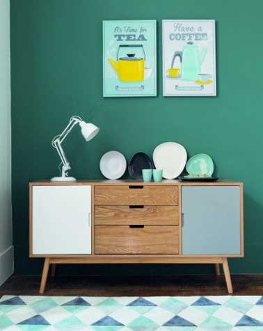 Peinture relooker ses meubles pour pas cher - Couleur de meuble en bois ...