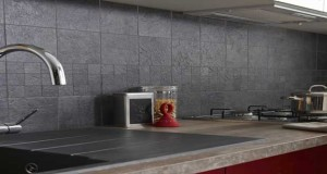 Carrelage Adhésif Mural Pour Cuisine Et Salle De Bain - Peinture carreaux cuisine pour idees de deco de cuisine