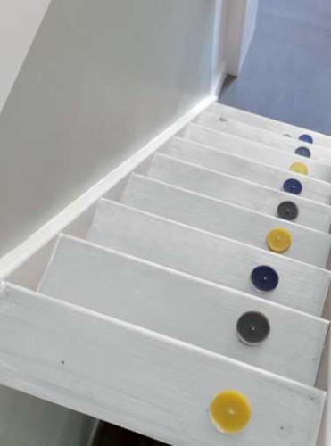Peinture escalier couleur blanc pour nouvelle d co for Peinture sol escalier