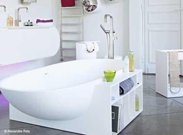 10 rangements salle de bain pour un gain de place maxi - Gain de place salle de bain ...