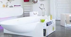 25 petites baignoires et baignoires sabot gain de place for Salle de bain gain de place
