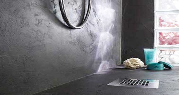 relooker sa salle de bain avec du bton minral cest top dco - Beton Cire Sur Carrelage Salle De Bain
