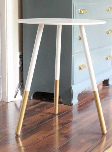 Peinture relooker ses meubles pour pas cher for Peindre sur peinture satinee