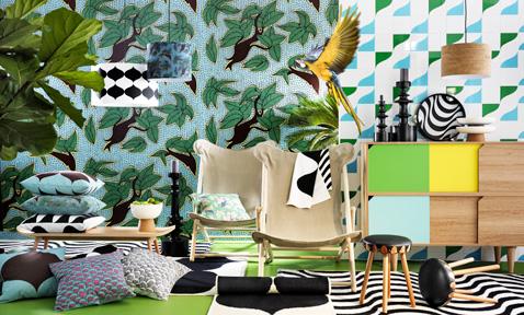 Linge de maison scandinave elegant un esprit scandinave for Ikea linge de maison