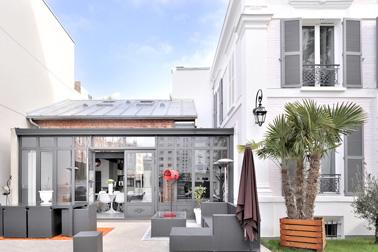 d coration veranda stylee pour amenager une cuisine de 28 m2 99 rennes veranda style. Black Bedroom Furniture Sets. Home Design Ideas