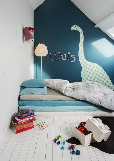 Am nagement combles 8 id es d co pour la chambre - Amenagement chambre d enfant ...