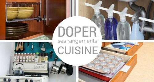 astuces rangement cuisine gain de place dans une petite cuisine. Black Bedroom Furniture Sets. Home Design Ideas