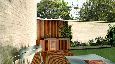 Camoufler un bloc de climatisation ext rieur sur la terrasse for Cacher un mur exterieur
