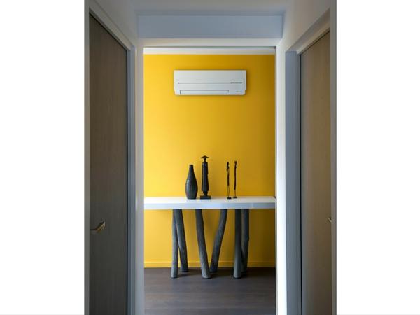 climatisation r versible la performance et le design mitsubishi. Black Bedroom Furniture Sets. Home Design Ideas